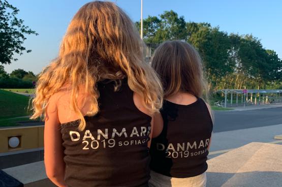 Gymnaster på träningsläger, Danmark 2019.